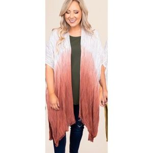 CHIC SOUL one size ombré shawl